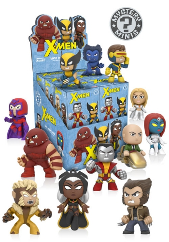 Funko X Men Mystery Minis Checklist Set Info Guide List