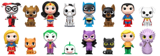 2016 Funko DC Super Heroes and Pets Mystery Minis 2