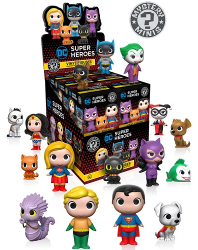 Funko Dc Super Heroes And Pets Mystery Minis List Odds
