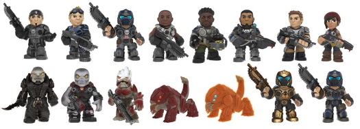 Funko Gears Of War Mystery Minis Checklist Set Info Odds