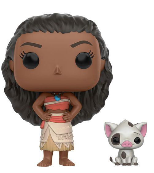 2016 Funko Pop Moana Moana and Pua