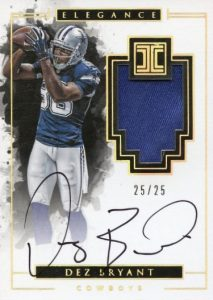 2016 Panini Impeccable Football Cards 23
