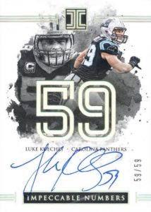 2016 Panini Impeccable Football Cards 27