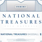 2016 Panini National Treasures Baseball Cards