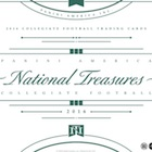 2016 Panini National Treasures Collegiate Football Cards - Checklist Added