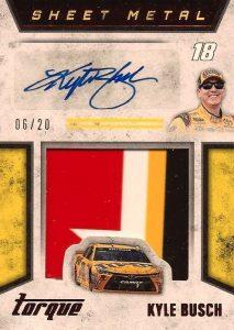 2016 Panini Torque NASCAR Racing Cards 34