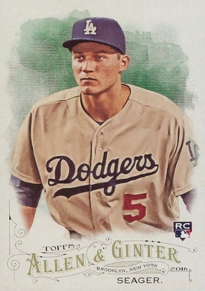 2016 Topps Archives Baseball #275 Corey Seager Rookie Card