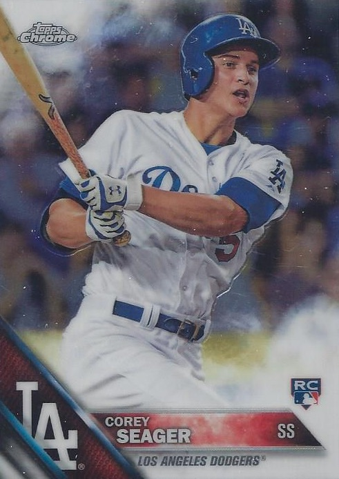 Top Corey Seager Rookie Cards and Prospect Cards 10