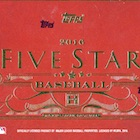 2016 Topps Five Star Baseball Cards