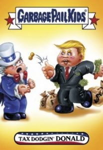 2016-17 Topps Garbage Pail Kids Disg-Race to the White House - Updated 33