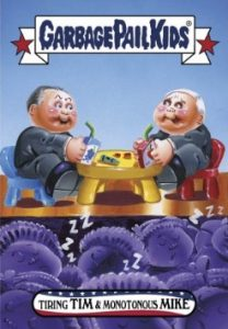 2016-17 Topps Garbage Pail Kids Disg-Race to the White House - Updated 36