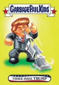 2016-17 Topps Garbage Pail Kids Disg-Race to the White House - Updated 43