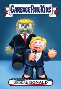 2016-17 Topps Garbage Pail Kids Disg-Race to the White House - Updated 46