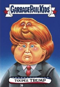 2016-17 Topps Garbage Pail Kids Disg-Race to the White House - Updated 52