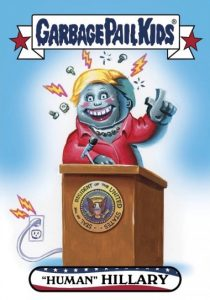 2016-17 Topps Garbage Pail Kids Disg-Race to the White House - Updated 51