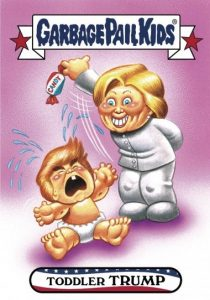 2016-17 Topps Garbage Pail Kids Disg-Race to the White House - Updated 55
