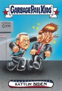 2016-17 Topps Garbage Pail Kids Disg-Race to the White House - Updated 53