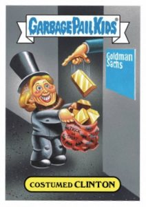 2016 Topps Garbage Pail Kids Halloween Stickers 22