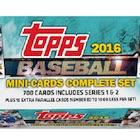 2016 Topps Mini Baseball Complete Set