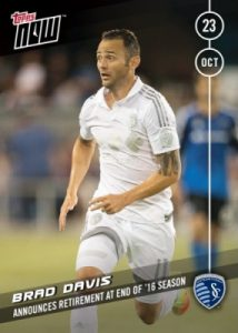 2016 Topps Now MLS Soccer Cards - MLS Cup 22