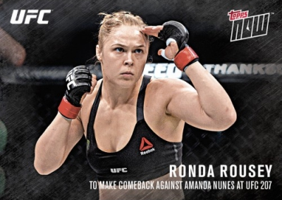 2016 Topps Now UFC MMA Cards 27
