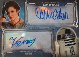 2016 Topps Star Wars Masterwork Trading Cards 26