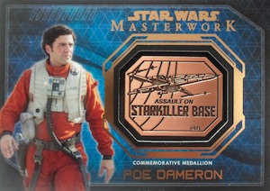 2016 Topps Star Wars Masterwork Trading Cards 33