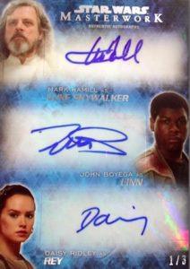 2016 Topps Star Wars Masterwork Trading Cards 27