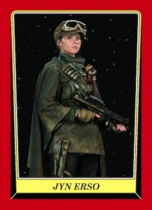 2016 Topps Star Wars Rogue One Mission Briefing Trading Cards - 2016 NYCC Expansion Set 25