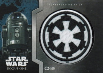 Star Wars Rogue One Mission Briefing Blue Base Card #2 The Sith Return