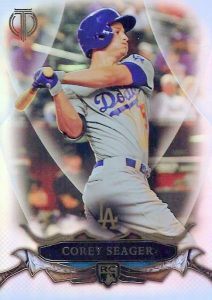 Corey Seager Rookie Cards Checklist and Top Prospect Cards - Rookie of the Year 23