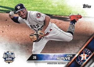 2016 Topps Update Series Baseball Variations Checklist and Gallery 107