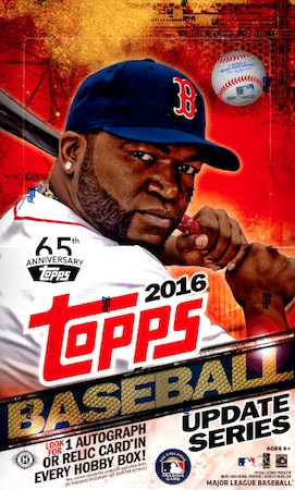 2016 Topps Update Series Baseball Cards 34