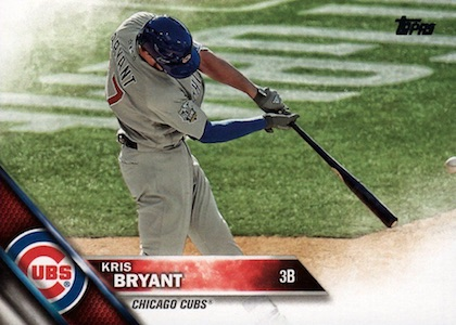 2016 Topps Update Series Baseball Variations Checklist and Gallery 116