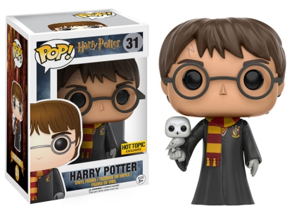 Funko Pop Harry Potter 31 Harry Potter with Owl Hot Topic