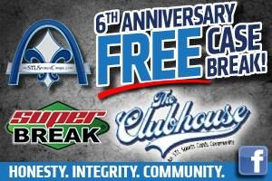 Press Release: STL Sports Cards Celebrates 6th Anniversary with Free Group Break 1