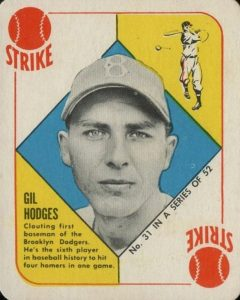 Top 10 Gil Hodges Baseball Cards 6