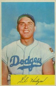 Top 10 Gil Hodges Baseball Cards 3