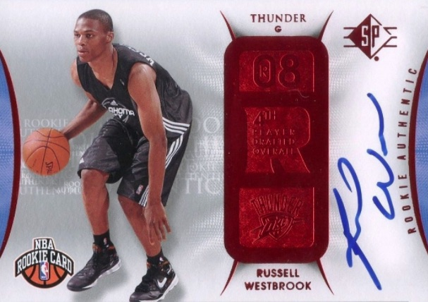 Top 10 Russell Westbrook Rookie Cards 14