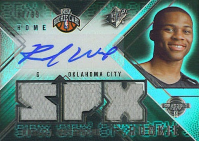 Top 10 Russell Westbrook Rookie Cards 9