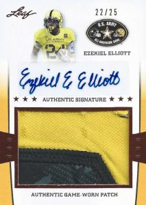Top Ezekiel Elliott Rookie Cards 36