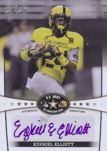 Top Ezekiel Elliott Rookie Cards 35