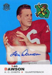 Top 10 Len Dawson Football Cards 5