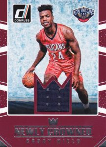 2016-17 Donruss Basketball Cards - Checklist Added 31