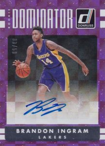 2016-17 Donruss Basketball Cards - Checklist Added 27