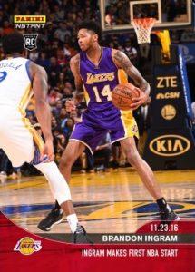 2016-17 Panini Instant NBA Basketball Cards 30