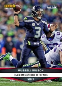 2016 Panini Instant NFL Football Cards 28