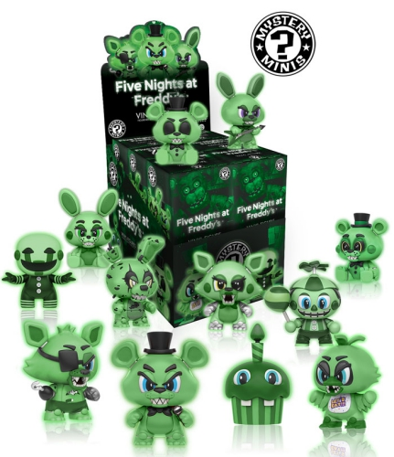 2016 Funko Five Nights at Freddy's Mystery Minis 1