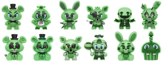2016 Funko Five Nights at Freddy's Mystery Minis 2