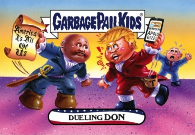2016-17 Topps Garbage Pail Kids Disg-Race to the White House - Updated 106